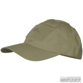 Бейсболка PolyCotton Ripstop Coyote