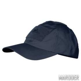 Бейсболка PolyCotton Ripstop Navy Blue