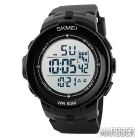 Часы Skmei DG1127 Black - White
