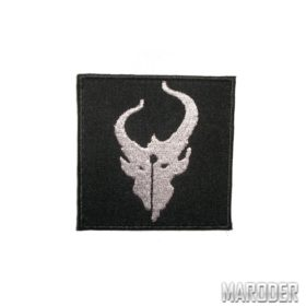 Нашивка Demon Hunter черная. Devgru putch