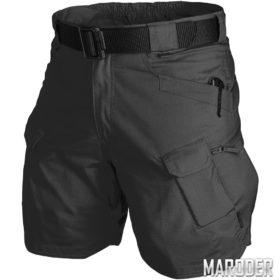 Шорты Urban Tactical 8,5 Khaki. Black Ripstop