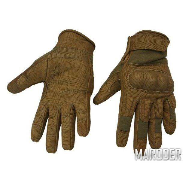 Перчатки тактические огнеупорные Nomex койот