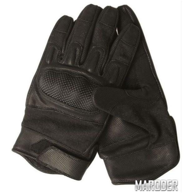 Перчатки тактические огнеупорные Nomex черные