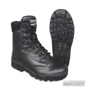 Зимние ботинки с мембраной DINTEX берцы