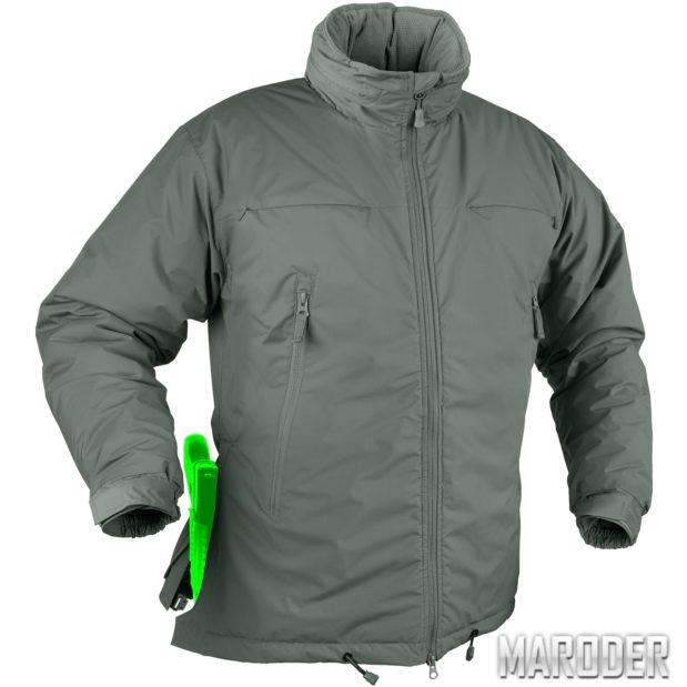 Куртка зимняя HUSKY TACTICAL Alpha Green