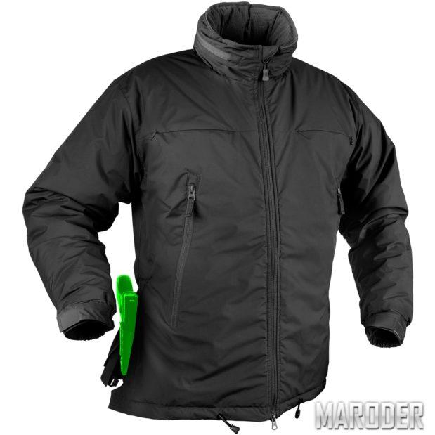 Куртка зимняя HUSKY TACTICAL черная