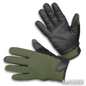 Перчатки Neopren / Kevlar порезостойкие олива
