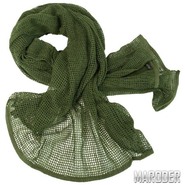 Сетка-шарф маскировочная олива – MARODER