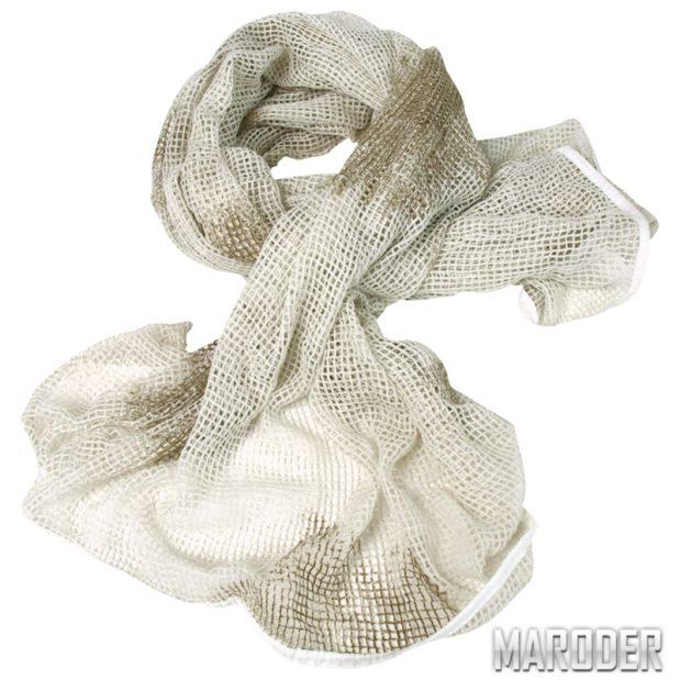 Сетка-шарф маскировочная белая