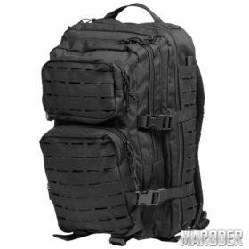Рюкзак тактический 36 литров LASER CUT черный