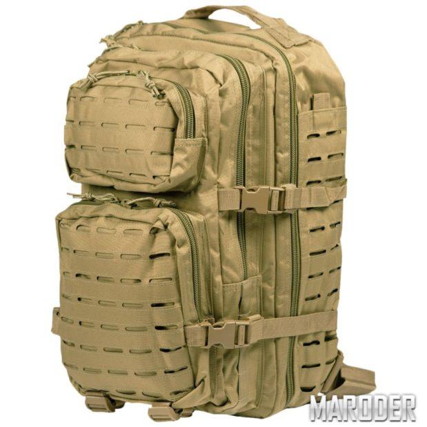 Рюкзак тактический 36 литров LASER CUT койот