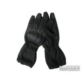 Перчатки тактические удлиненные огнеупорные черные