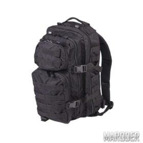Рюкзак тактический 36 литров черный