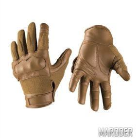 Перчатки тактические кевларовые Leder Dark Coyote