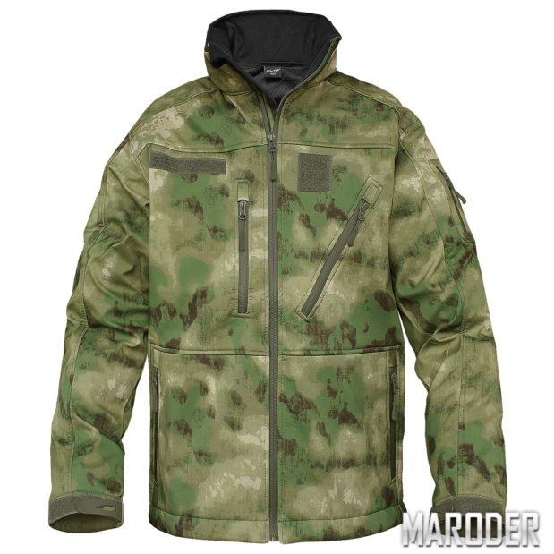 Тактическая куртка Softshell Jacket SCU 14 A-TACS FG