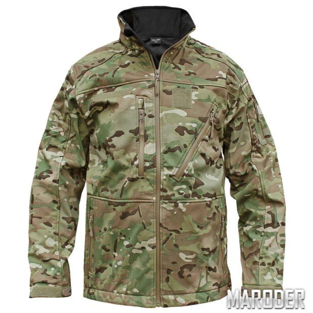 Тактическая куртка Softshell Jacket SCU 14 multicam