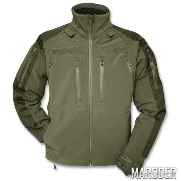Тактическая куртка Softshell Jacket MT-Plus олива