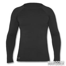 Термофутболка Unterhemd lang MT-Plus черная