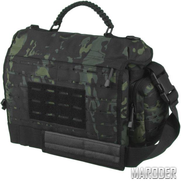 Тактическая сумка TACTICAL PARACORD BAG LG Multicam Black