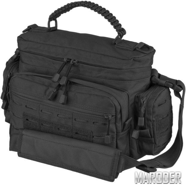 Сумка тактическая TACTICAL PARACORD BAG SM Черная