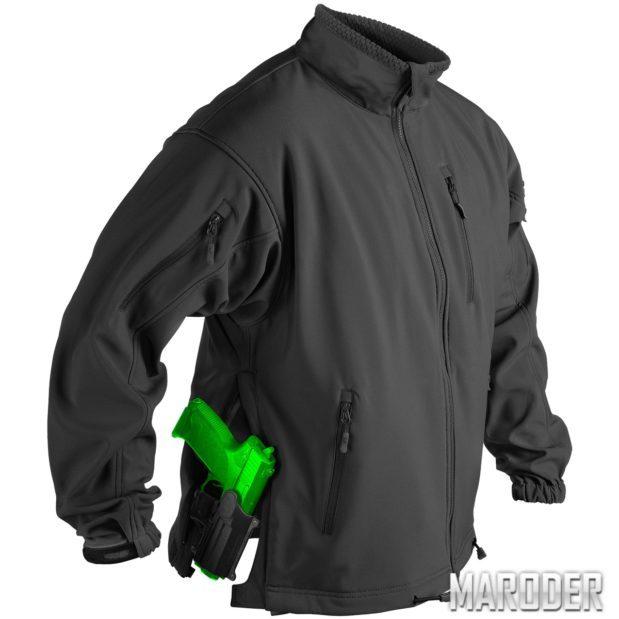 Куртка тактическая Jackal Soft Shell черная
