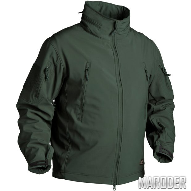 Куртка тактическая Gunfighter Soft Shell Jungle Green