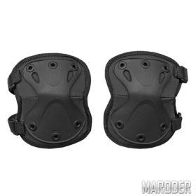Налокотники защитные тактические X - образные черные