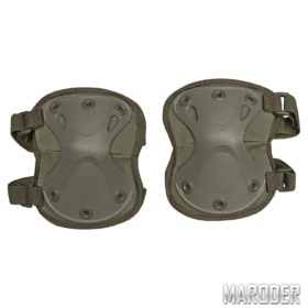 Налокотники защитные тактические X - образные олива