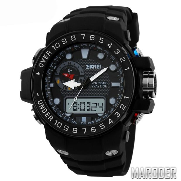 Часы мужские Skmei 1063 черного цвета