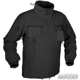 Куртка тактическая Cougar Soft Shell QSA чёрная