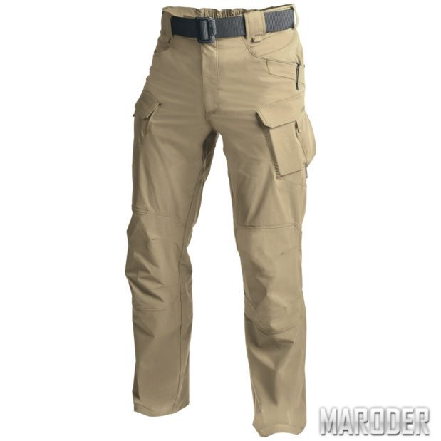 Тактические брюки OTP Khaki хаки хеликон Helikon штаны
