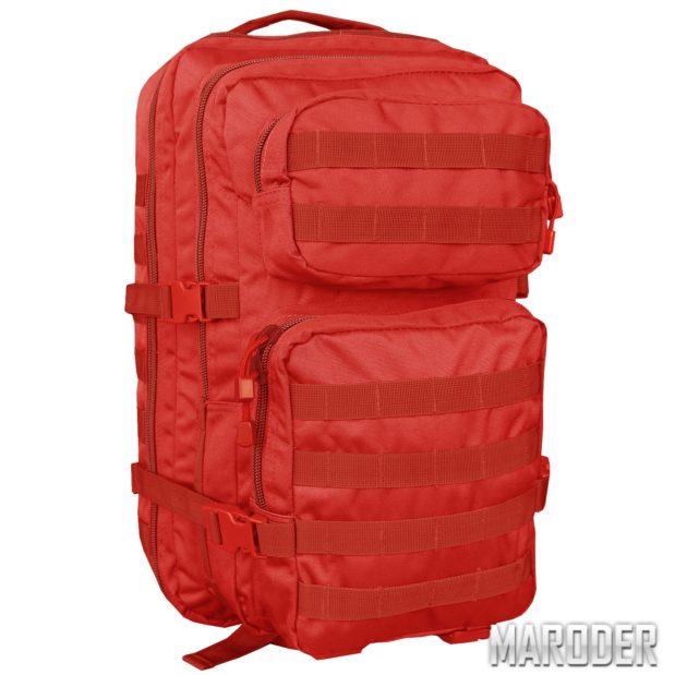 Рюкзак тактический 36 литров красный медицинский