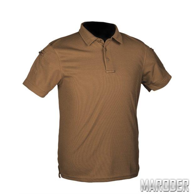 Тактическая футболка Polo Coyote