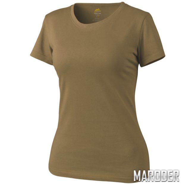 Женская тактическая футболка Helikon coyote