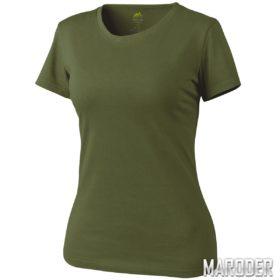 Женская тактическая футболка Helikon olive green