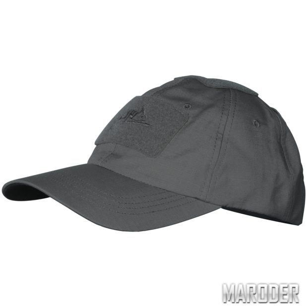 Бейсболка PolyCotton Ripstop Shadow Grey