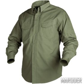 Рубашка тактическая Defender Long олива helikon хеликон
