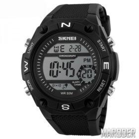 Часы мужские тактические Skmei 1093 Black