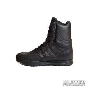 Ботинки Antiterror черные кожаные