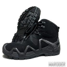 Ботинки ALLIGATOR 33 черные
