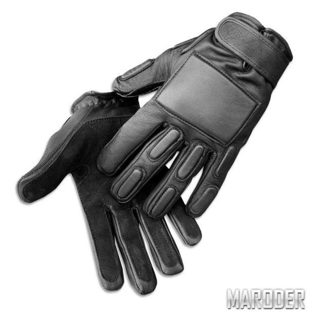Перчатки штурмовые с защитой спецназа полиции