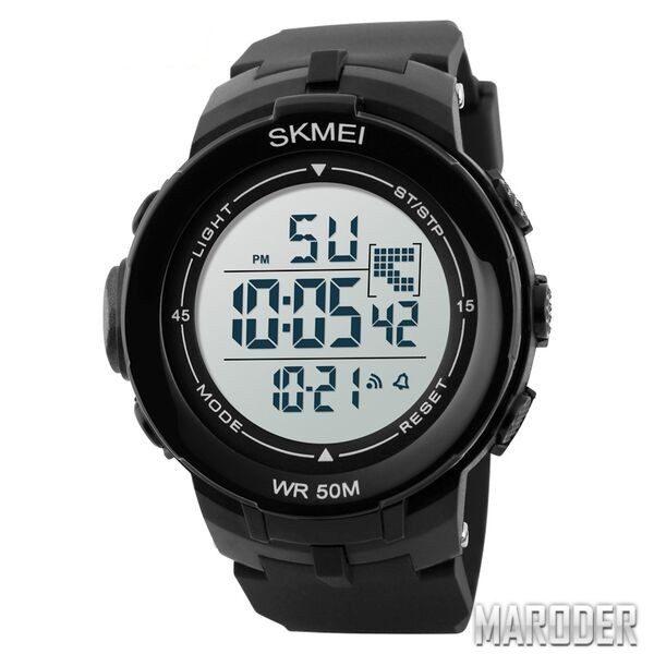 Часы Skmei DG1127 Black - White