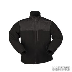 Куртка флисовая ELITE FLEECE JACKE HEXTAC Черная