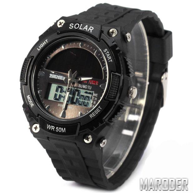 Часы SKMEI 1049 Black обзор