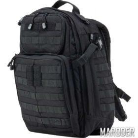 Тактический рюкзак RUSH 24 черный