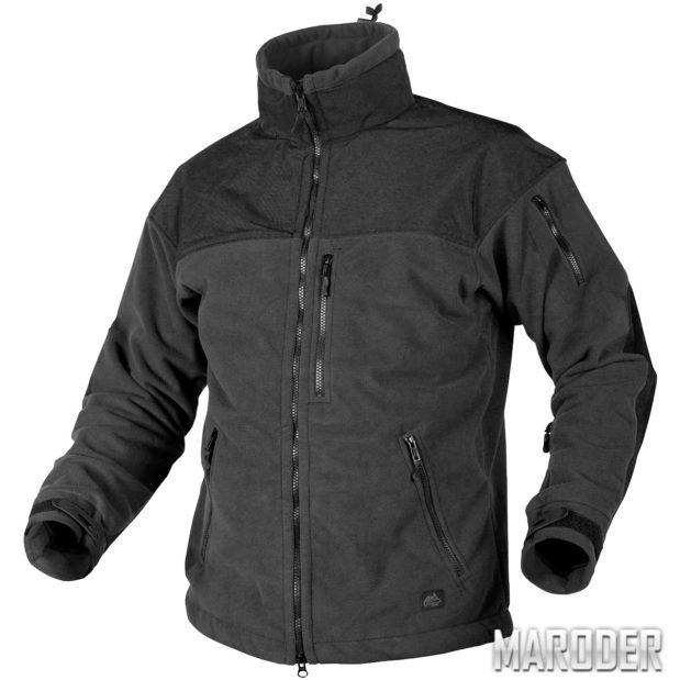 Куртка с мембраной CLASSIC ARMY FLEECE черная