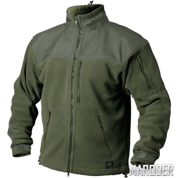 Флисовая куртка CLASSIC ARMY FLEECE олива