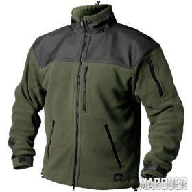 Флисовая куртка CLASSIC ARMY FLEECE олива-черный