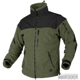 Куртка с мембраной CLASSIC ARMY FLEECE олива-черная
