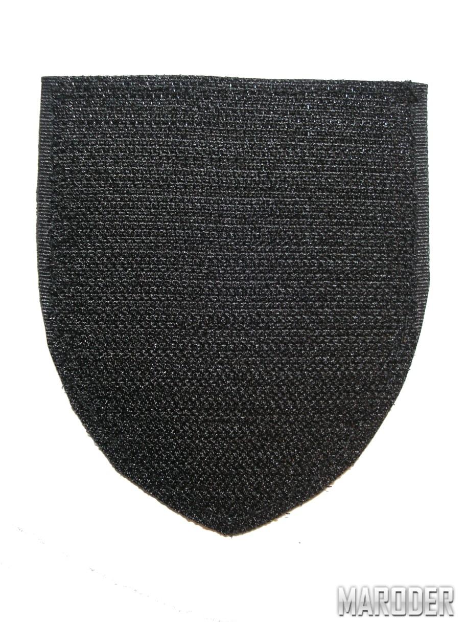 шеврон патруль полиция черный